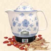 幸福花-啞巴媳婦陶瓷煎藥壺