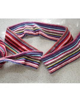 彩虹潮流彈性繃帶-彩色彈性網式繃帶網套