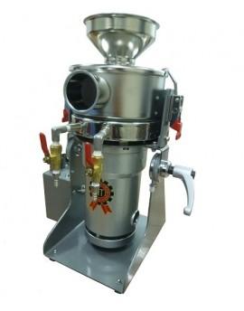 氣流水冷式桌上型超微粉機-連續型2.6HP