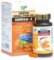 薑黃純萃95%軟+小魚魚油膠囊 90粒入